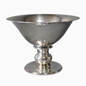 Große Vintage Silber Schale von SJ