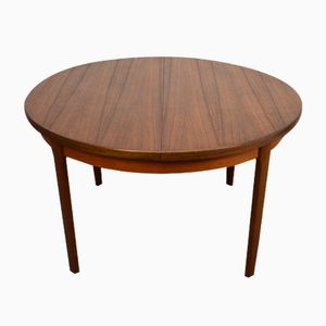 Mid-Century Extendable Table in Teak from Nathan