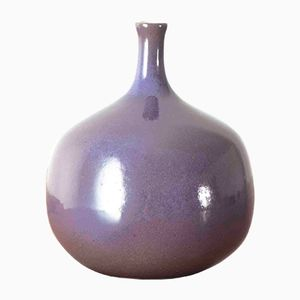 Purple Fig-Shaped Vase by Jacques & Dani Ruelland, 1950s