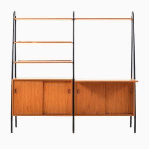 Mid-Century Danish Teak Shelving System or Bookcase, 1950s