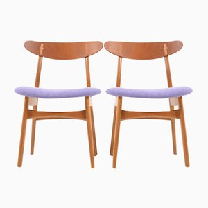 Mid-Century CH-30 Chairs by Hans Wegner for Carl Hansen & Søn, Set of 2