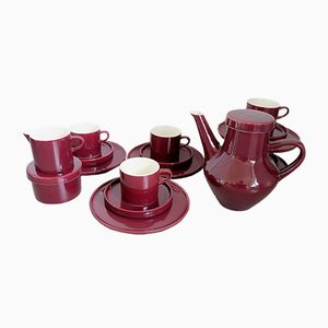 Mid-Century Bordeaux Stockholm Coffee Service from Melitta