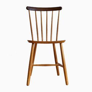 J 46 Stuhl von Poul Volther für Billund Stolefabrik, 1950er