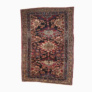 Antique Persian Isfahan Handmade Rug, 1900s
