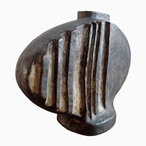 Vintage Abstract Ceramic Vase by Helmut Schäffenacker