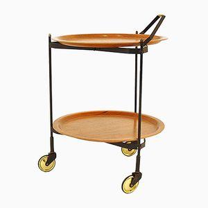 Scandinavian Serving Cart, 1960s