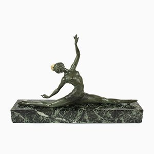 French Art Deco Sculpture by J. P. Morante for Marcel Guillemard, 1920s