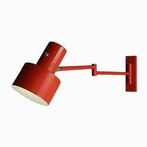 Lampada da parete Skala vintage di Jo Hammerborg per Fog & Mørup