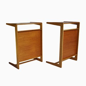 Night Stands by Yngvar Sandstrom for Nordiska Kompaniet, 1960s, Set of 2