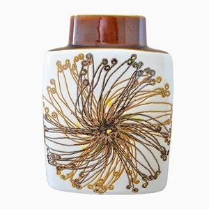 Mid-Century Baca Fayence Vase von Ellen Malmer für Royal Copenhagen