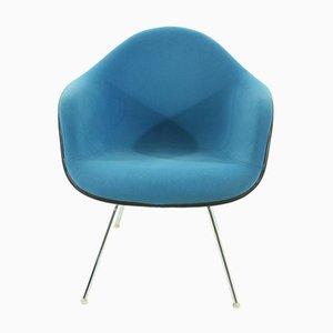 Vintage Sessel in Blau von Charles & Ray Eames für Vitra