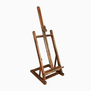 Small French Adjustable Painter's Easel, 1920s