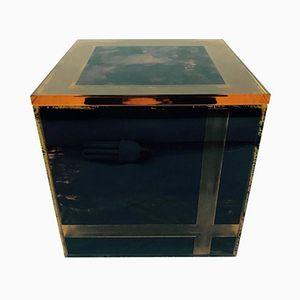 Italian Plexiglas Ice Bucket, 1970s