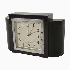 Art Deco Uhr Markiert Foreign, 1930er