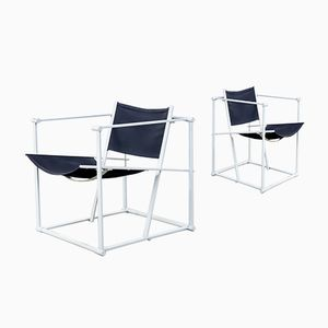Vintage FM60 Cubic Chairs by Radboud van Beekum for Pastoe, Set of 2