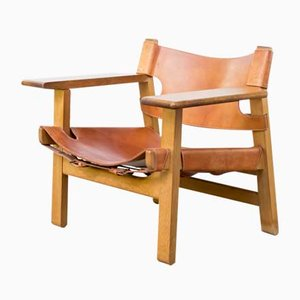Spanish Sessel von Børge Mogensen für Fredericia, 1970er