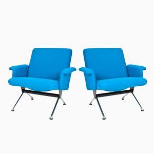 Niederländische Mid-Century Modell 1432 Sessel von Andre Cordemeyer für Gispen, 1961, 2er Set
