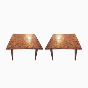 Mid-Century Italian Coffee Tables, 1960s, Set of 2