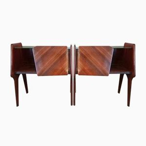 Tables de Chevet par Guglielmo Ulrich, 1950s, Set de 2
