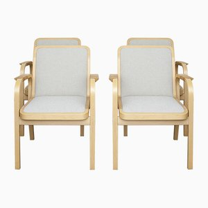 Model 45 Chairs by Alvar Aalto for Artek, 1970s, Set of 4