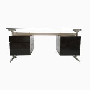 Desk with Double Compartment by Etienne Fermigier for JFR, 1970s