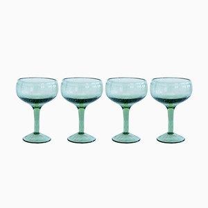 Bicchieri da cocktail verdi di House Doctor, set di 4