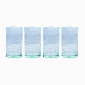Hand Blown Hi-Ball Glasses from House Doctor, Set of 4