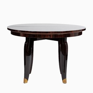 Round Art Deco Dining Table, 1935