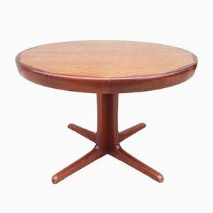 Skandinavischer Runder Tisch von Ib Kofod-larsen für Faarup Møbelfabrik, 1960er