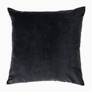 Cuscino grande di velluto grigio di Ceraudo