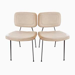 Model CM196 Chairs by Pierre Paulin for Thonet, 1950s, Set of 2