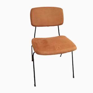 Sechs Stühle & Ein Ottomane von Daciano da Costa für Metalurgica da Longra, 1962