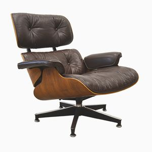 Vintage Rosewood Lounge Chair by Charles & Ray Eames for Herman Miller, 1976
