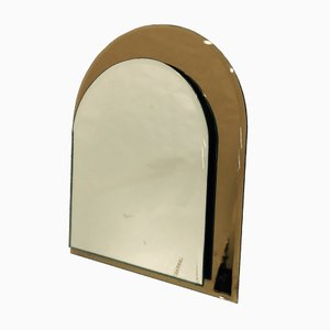 Italian Table Mirror by Giuseppe Raimondi for Cristal Art, 1970s