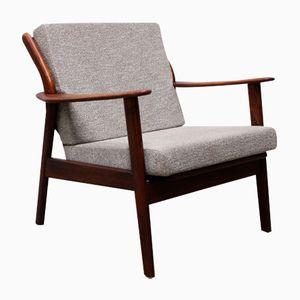 Mid-Century Dutch Teak Lounge Chair from De Ster Gelderland