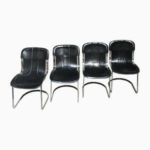 Dining Chairs from Cidue, 1970s, Set of 4