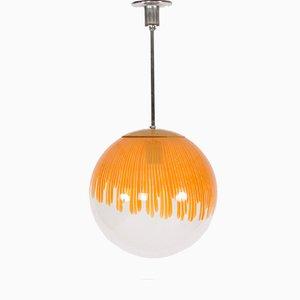 Lampe à Suspension Anemone par Ludovico Diaz de Santillana pour Venini, 1960s
