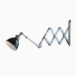Large Vintage Scissor Lamp by Curt Fischer for Midgard