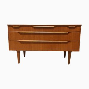 Mid-Century Danish Commode with 5 Drawers, 1960s