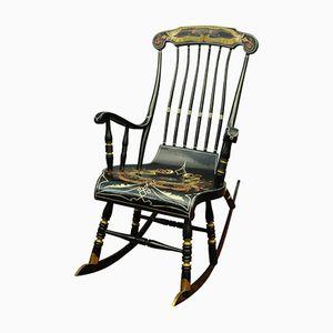 Rocking Chair Vintage avec Décorations,Suède,1960s