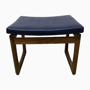 Mid-Century Afromosia Quadrille Dressing Table Stool by R. Bennett for G-Plan, 1967