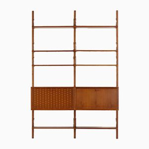 Teak Wall Unit by Poul Cadovius for Cado Royal