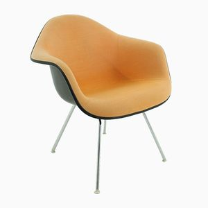 Vintage Lounge Chair in Terracotta by Charles & Ray Eames for Herman Miller