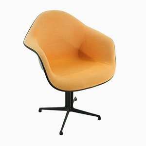 Vintage Terracotta La Fonda Chair by Charles & Ray Eames for Vitra