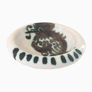Bird with Worm Bowl by Pablo Picasso for Madoura, 1952