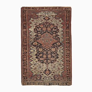 Antiker Handgefertigter Persischer Sarouk Farahan Teppich, 1880er
