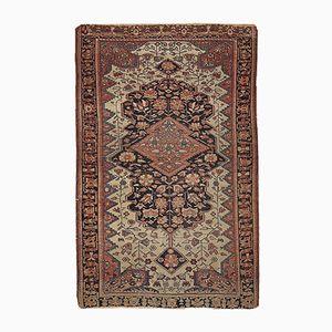 Antique Persian Handmade Sarouk Farahan Rug, 1880s