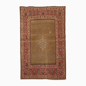 Antiker Handgefertigter Persischer Tabriz Teppich, 1900er