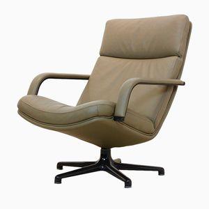 Vintage F141 Artifort Swivel Lounge Chair by Geoffrey Harcourt