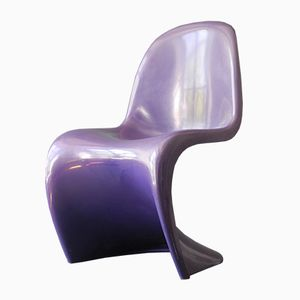Lila Panton Stuhl von Verner Panton für Herman Miller Fehlbaum, 1976